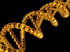 Stock Illustration of dna molecule, artwork