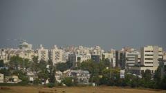 Ashkelon cityscape 2 - stock footage