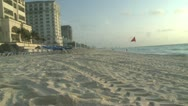 Stock Video Footage of Cancun beach