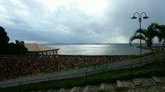 Quiet coast. - stock footage