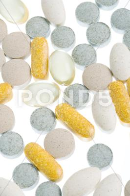 Stock photo of supplements