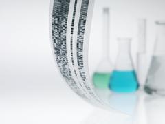 Genetics research Stock Photos