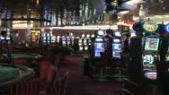 Stock Video Footage of Empty Casino Pan