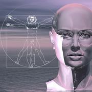 Human intelligence, conceptual artwork Stock Illustration