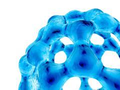 Buckyball, c60 buckminsterfullerene Stock Illustration