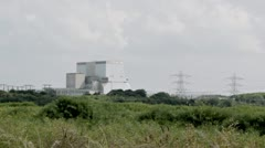 Hinkley Point Nuclear Power Station Stock Footage
