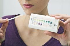Urine analysis Stock Photos
