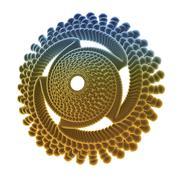 Nano turbine Stock Illustration