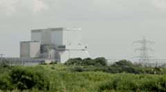 Nuclear Power Station, Hinkley Point - stock footage