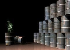 Stock Illustration of toxic waste, conceptual artwork