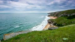 timelapse. landscape generals beaches. - stock footage