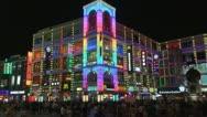 Timelapse Busy shopping night, Shangxiajiu Pedestrian Street, Guangzhou, China Stock Footage