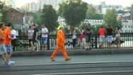 Stock Video Footage of Dutch fans walking