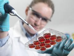 biological research - stock photo