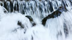 Carpatian waterfall 'Shipot' Stock Footage