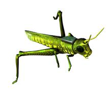 Insect spy, conceptual artwork Stock Illustration