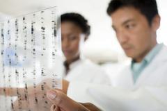 genetics research - stock photo