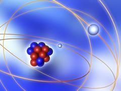 atomic structure - stock illustration