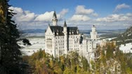 Stock Video Footage of Germany, Neuschwanstein Castle, T/L