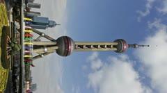Shanghai Pearl Tower Stock Footage