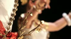 Traditional Khmer Cambodian dance Stock Footage