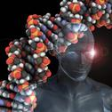 Stock Illustration of human genome, conceptual artwork