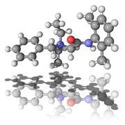 Denatonium molecule Stock Illustration
