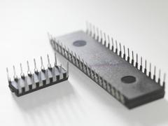 Integrated circuits Stock Photos