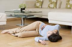 fainting - stock photo
