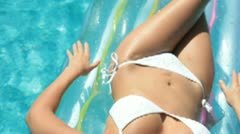Bikini Female Stock Footage
