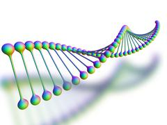 Dna-molekyyli, kuvamateriaali Piirros