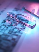 Genetic research Stock Illustration