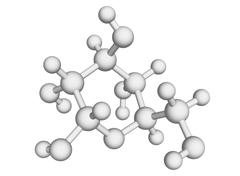L-glucose molecule Stock Illustration
