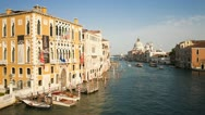 Stock Video Footage of Italy, Venice, Grand Canal T/L