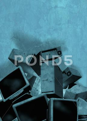 Stock Illustration of obsolete technology, artwork