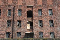 Abandoned Warehouses Stock Photos