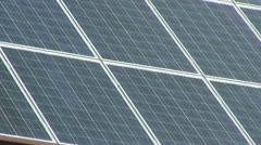 Solar Panels in Germany Stock Footage