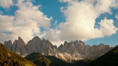 Italy, Dolomites, landscape T/L - stock footage