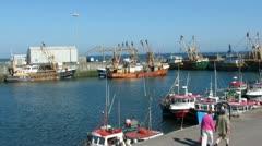 Harbour Walk Stock Footage