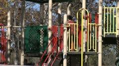 CHILDRENS PLAYGROUND 2 Stock Footage