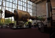 Stock Photo of the national air and space museum on the national mall in washington