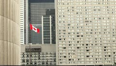 Toronto, Nathan Phillips Square area Stock Footage