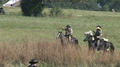 CW CAVALRY 2 Stock Footage