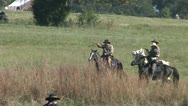 Stock Video Footage of CW CAVALRY 2
