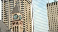 Toronto's Old City Hall Stock Footage