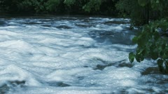 Fast Flowing Creek Stock Footage