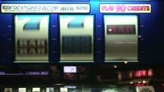 Slot Machine Reels Stock Footage