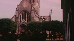 WW2 D-Day Color Footage - Several Clips Stock Footage