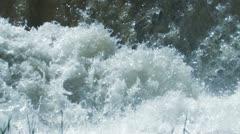 Water High Speed Shutter - stock footage