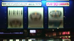 Slot Reels 3 Sevens Stock Footage